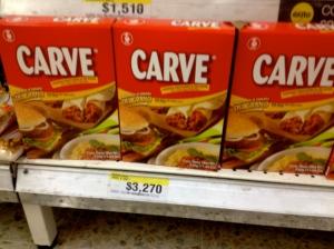TVP-Carne de soya-proteína de soya -CARVE